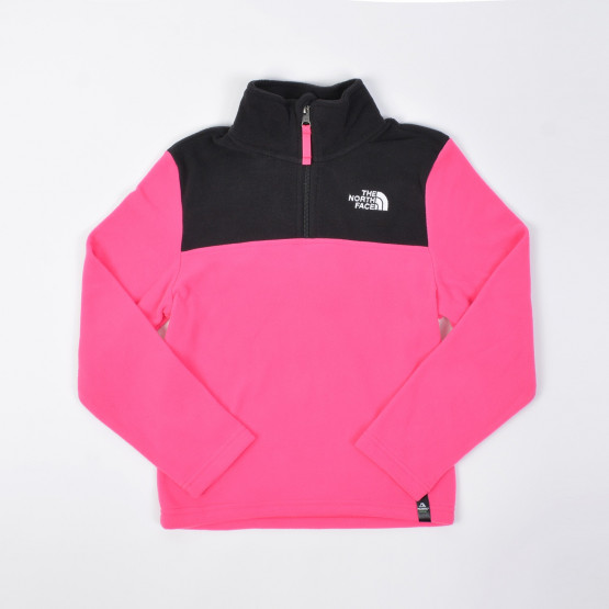 The North Face Glacier Kids' 1/4 Zipped Sweatshirt