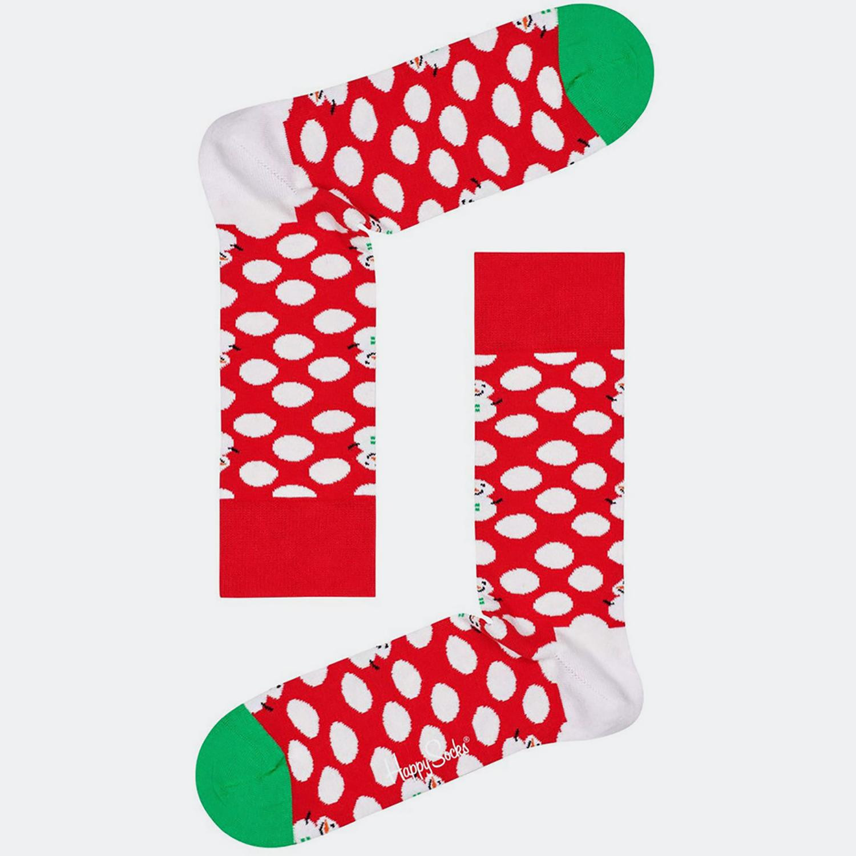 Happy Socks Big Dot Snowman Sock (9000041011_2074)