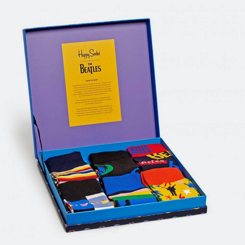 Happy Socks Beatles Gift Box 6 Pack (9000041050_2074)