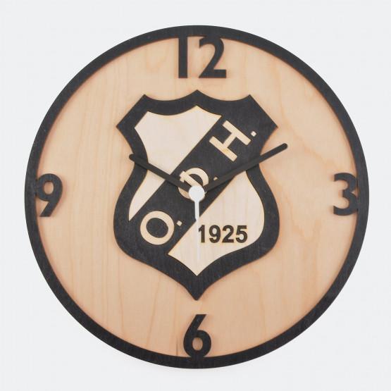 OFI Ρολόι Ξυλινο 13cm