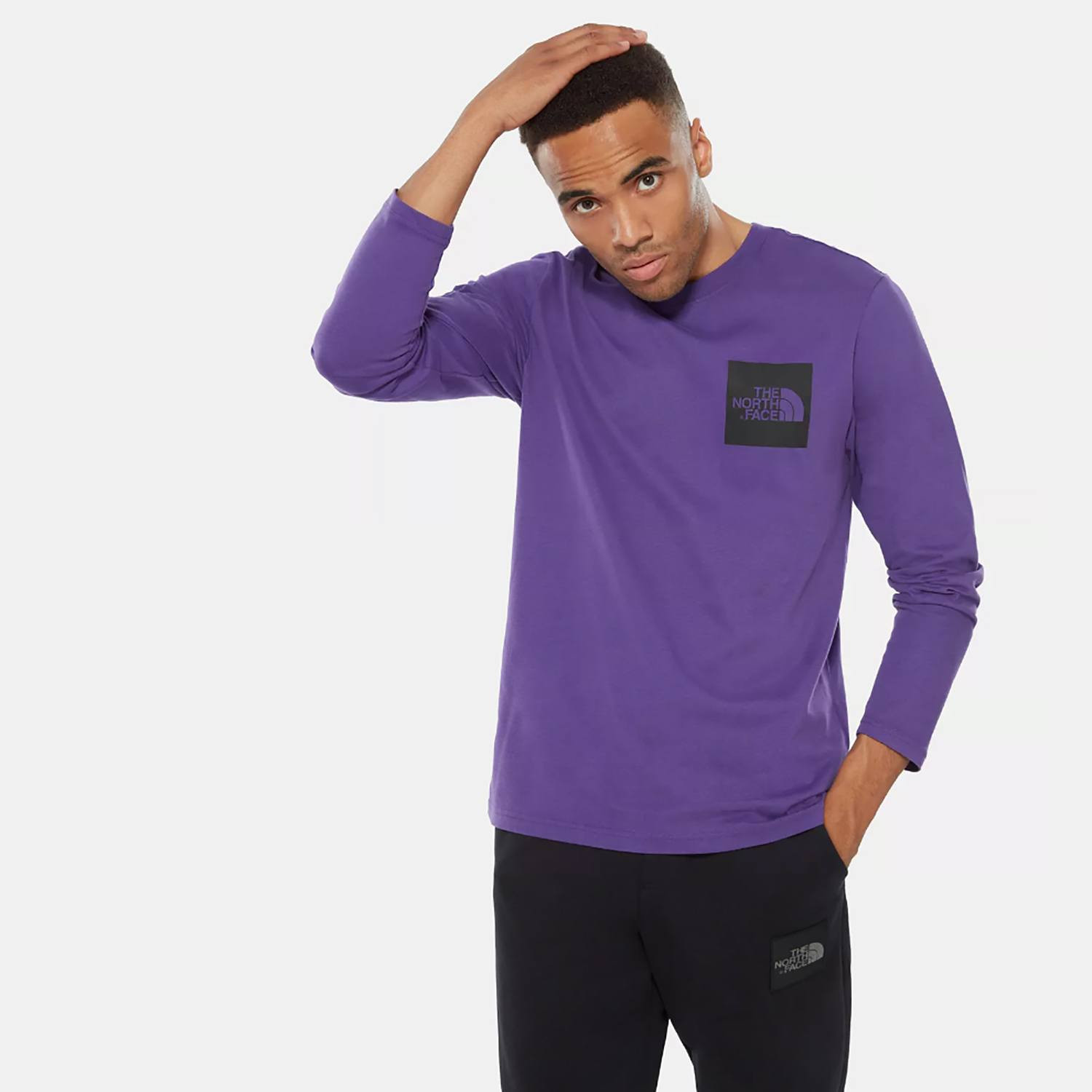THE NORTH FACE M L/S FINE TEE (9000036592_41098)