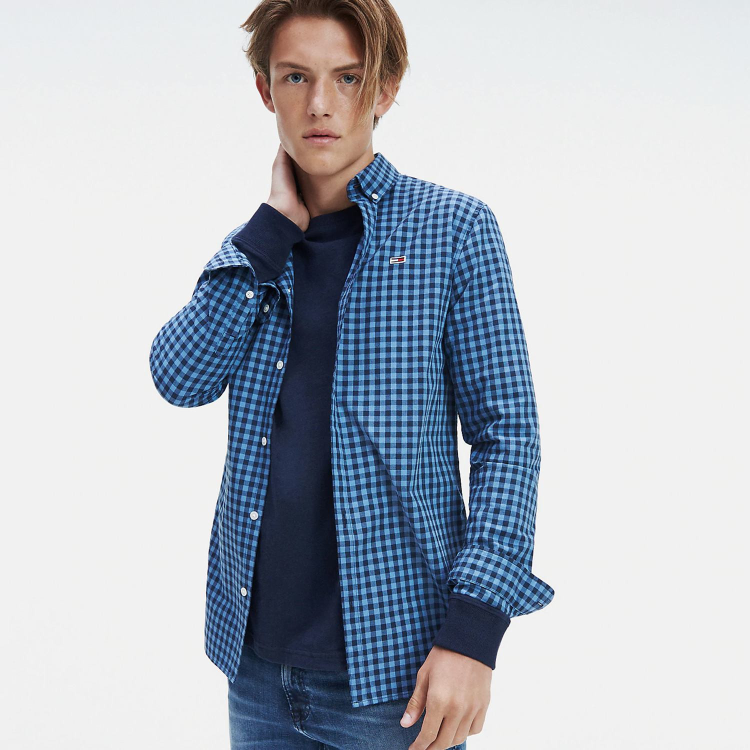 Tommy Jeans GINGHAM SHIRT (9000039597_16053)