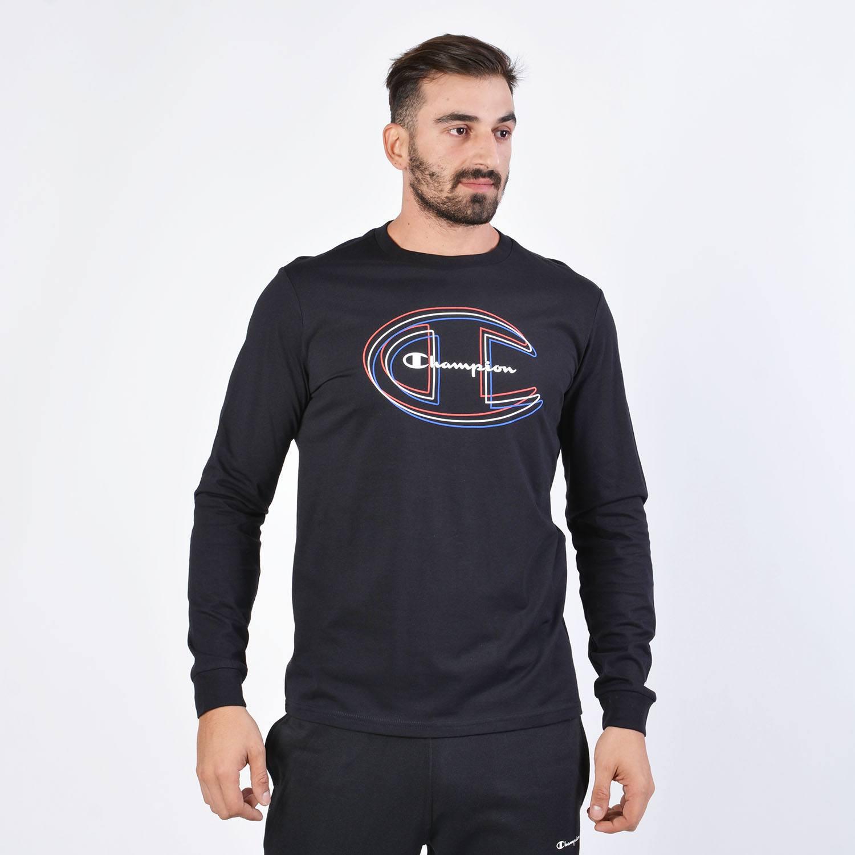 Champion Long Sleeve Crewneck T-Shirt (9000038393_1862)