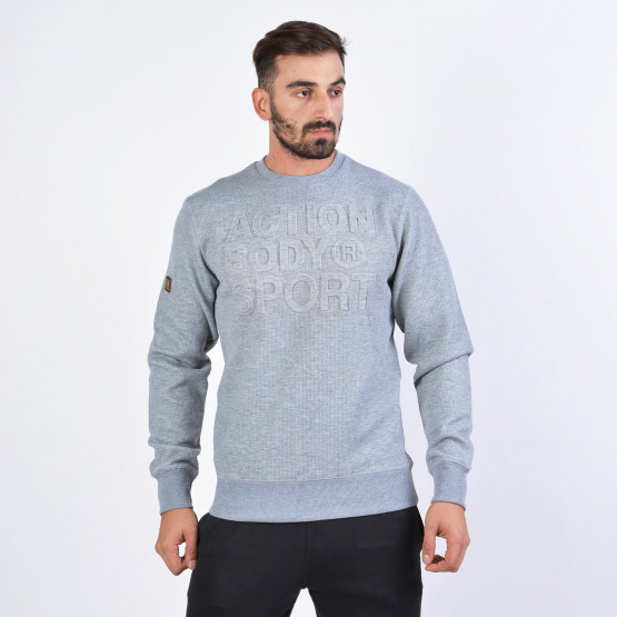 Body Action MEN CREW NECK SWEATSHIRT