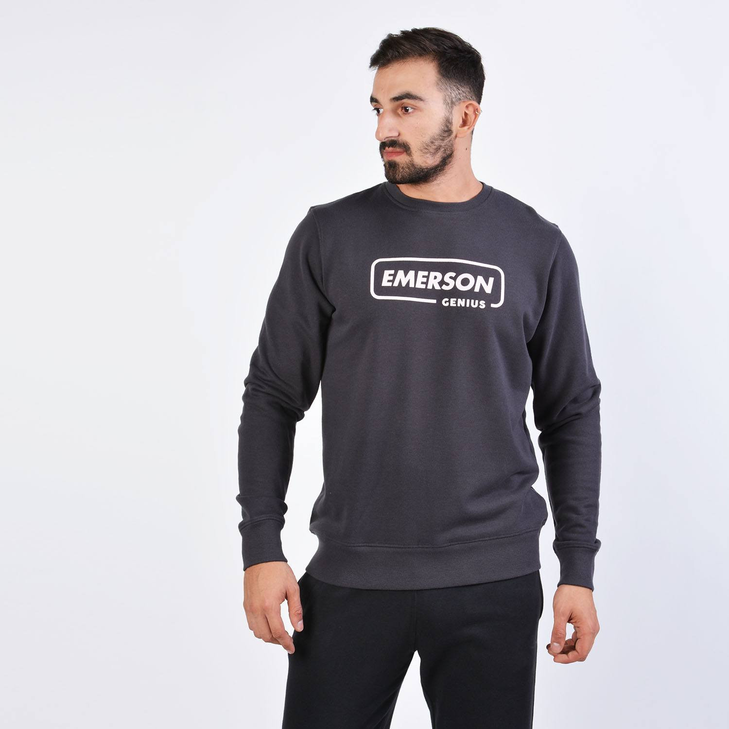 Emerson Men's Neckline Sweat (9000036111_2066)