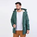 Franklin & Marshall Jackets Nylon Zip + Hood Long