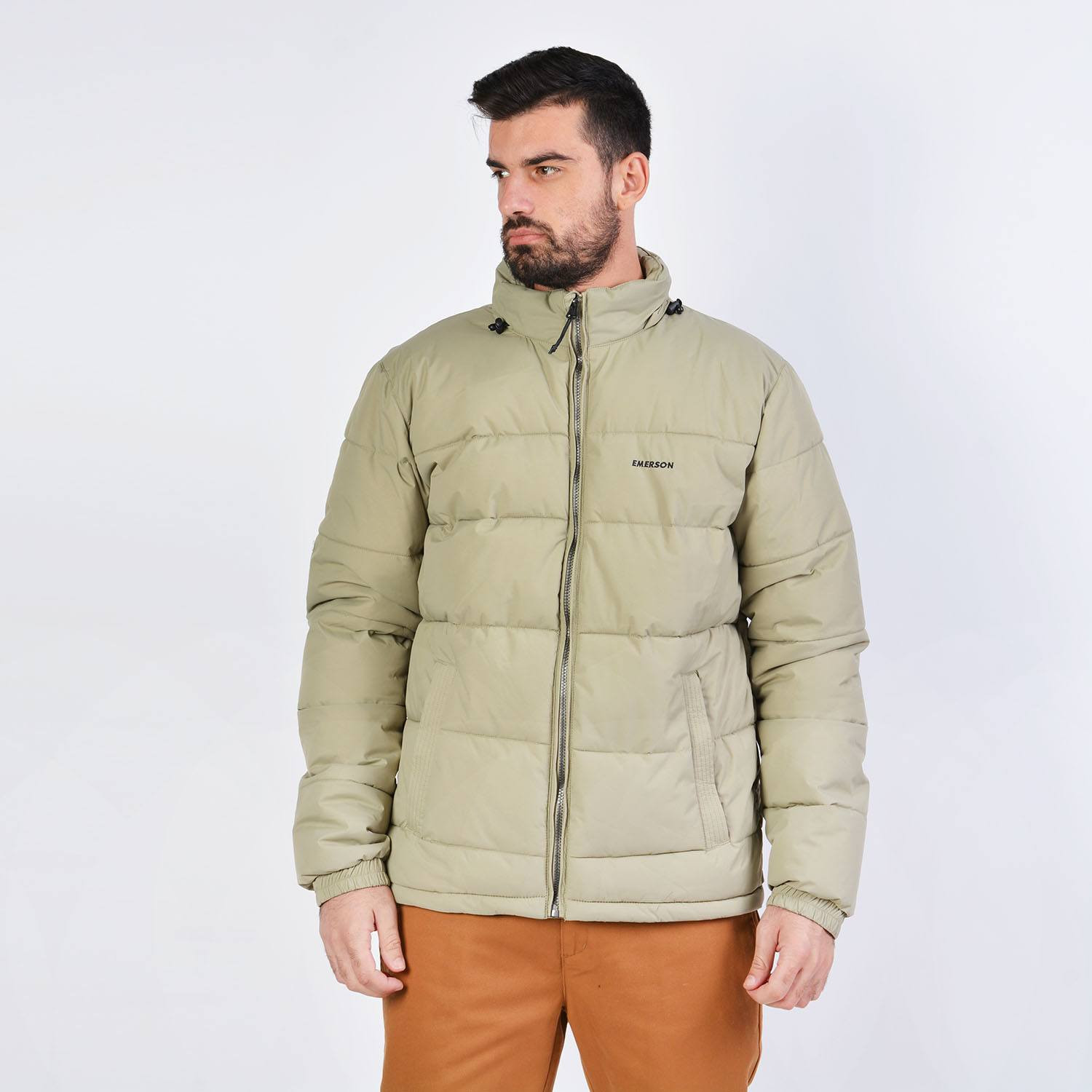 Emerson Men's P.p. Down Jkt With Roll-In Hood (9000036091_40990)