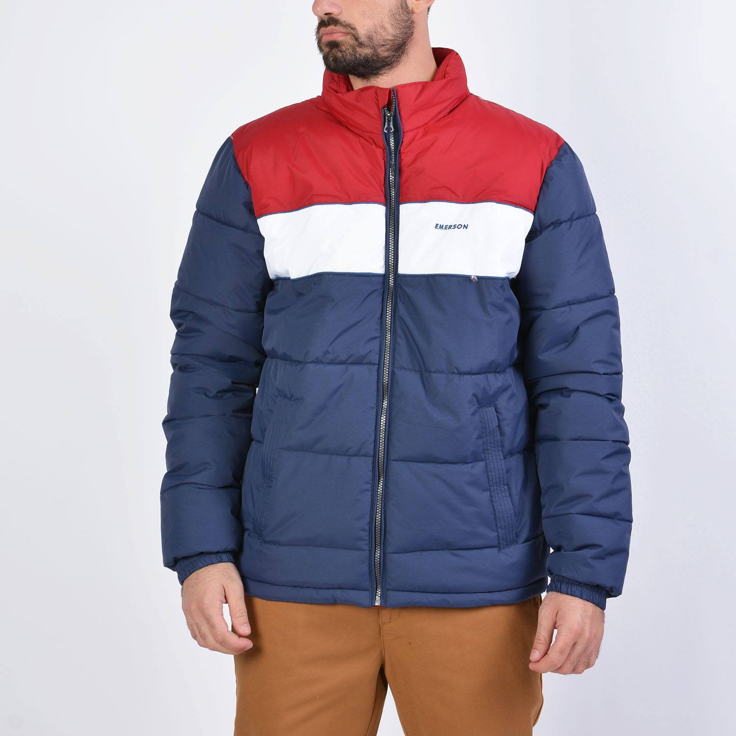 Emerson Men's P.p. Down Jkt With Roll-In Hood (9000036092_40991)
