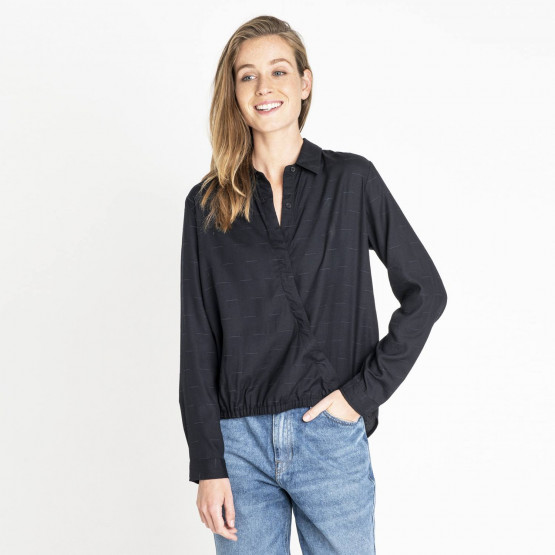 Lee ASYMMETRIC WRAP SHIR BLACK