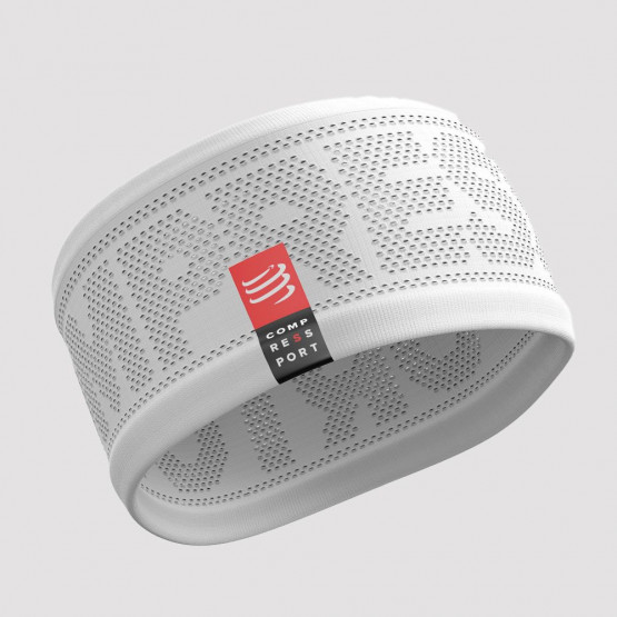 COMPRESSPORT Headband ON/OFF White