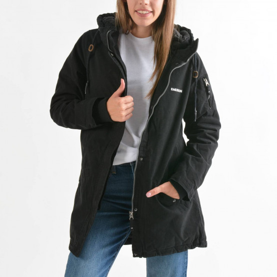 Emerson Women's Long Washed Jacket