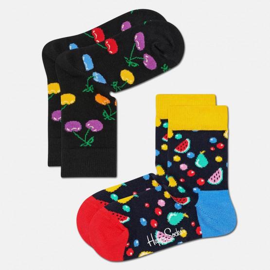 Happy Socks 2-Pack Cherry Socks