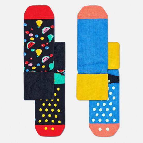 Happy Socks 2-Pack Fruit Salad Anti-Slip Socks
