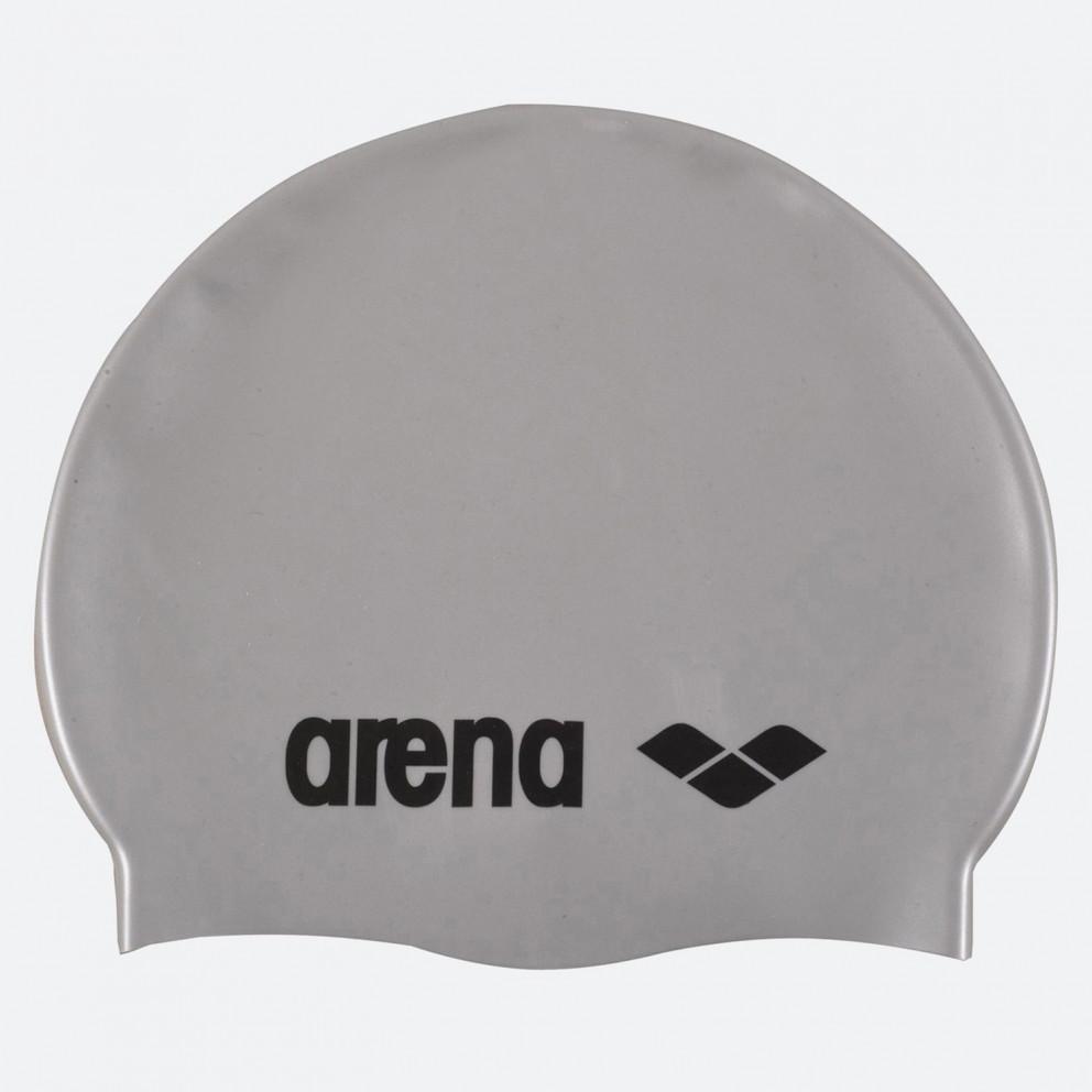 Arena Classic Silicone Caps Silver-Black