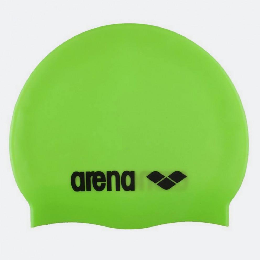 Arena Classic Silicone Caps Acid Lime-Black
