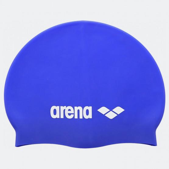 Arena CLASSIC SILICONE CAPS SKY BLUE-WHITE