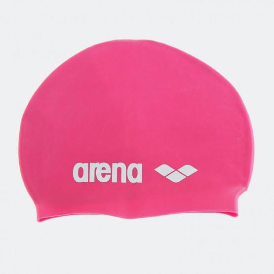 Arena CLASSIC SILICONE CAPS FUCHSIA WHITE