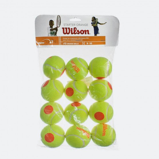 Wilson Starter Orange Tball 12 Pack Μπάλες