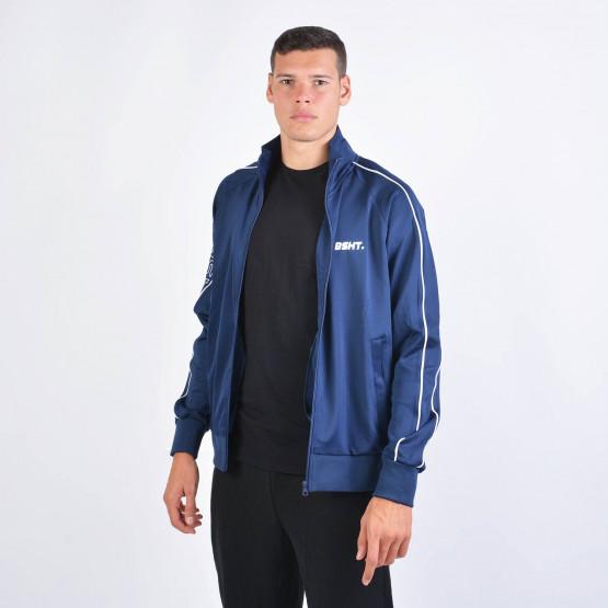 Basehit Men's Zip Up Track Jacket