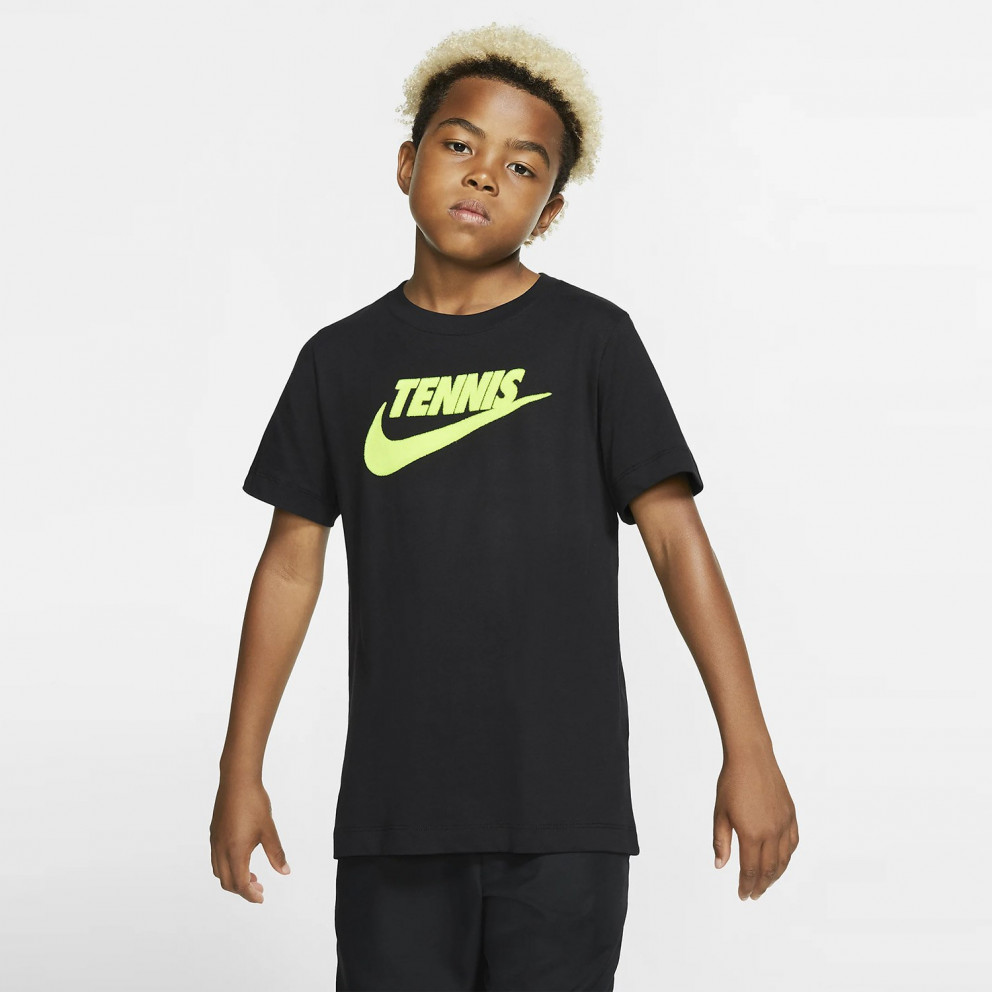 Nike Court Dri-FIT Graphic Boys' Tennis T-Shirt