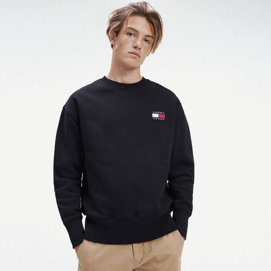 Tommy Jeans Badge Crew Men's Sweatshirt