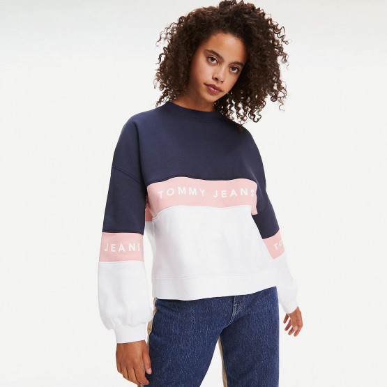 Tommy Jeans TJW COLORBLOCK CREW