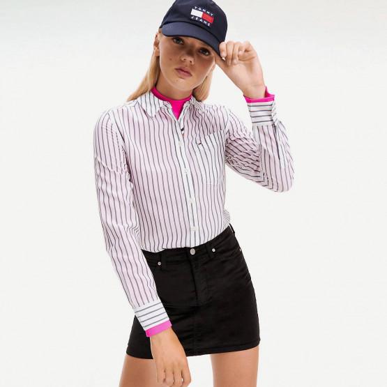 Tommy Jeans Viscose Stripe Shirt