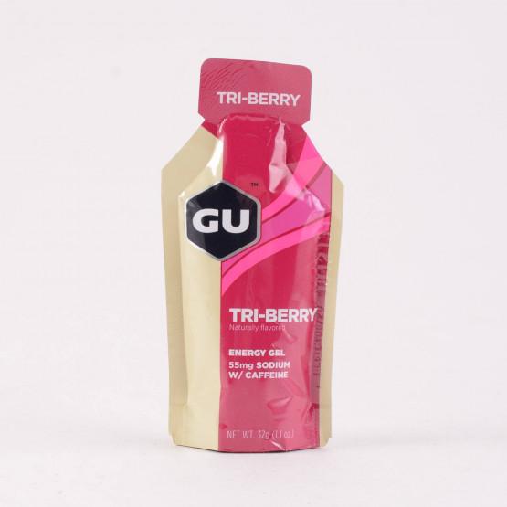 GU Ενεργειακό gel GU - Γεύση Βατόμουρο (Tri-Berry) 32 g.