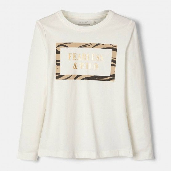 Name It Kids' Long-Sleeved T-Shirt 'Fearless & Wild'
