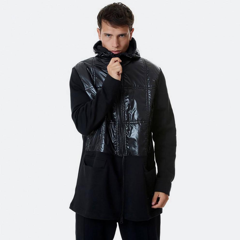 Bodytalk Men's Long Hooded Jacket