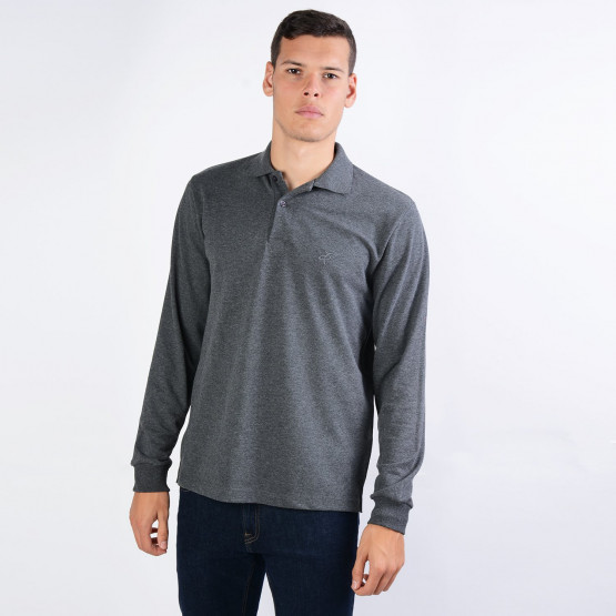 Target Polo Pique Men's Long-Sleeve T-shirt