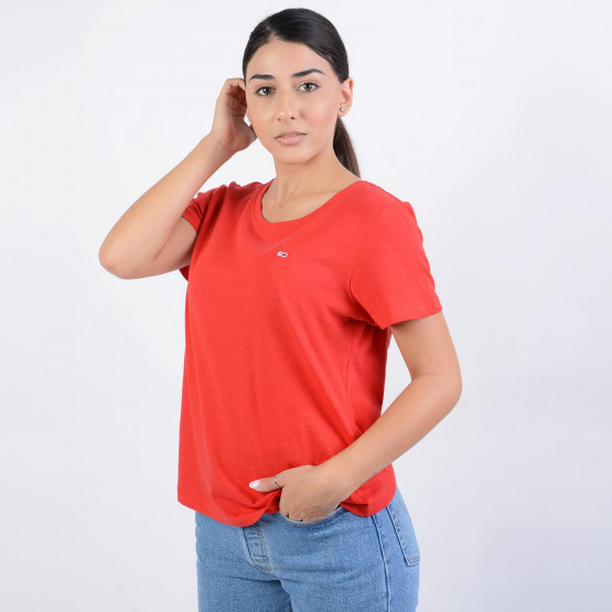 Tommy Jeans TJW SOFT JERSEY TEE