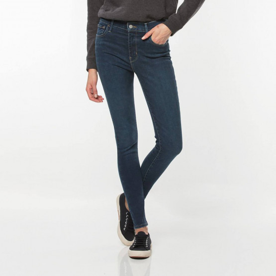 Levis 720 HIRISE SUPER SKINNY ESSENTIAL BLUE