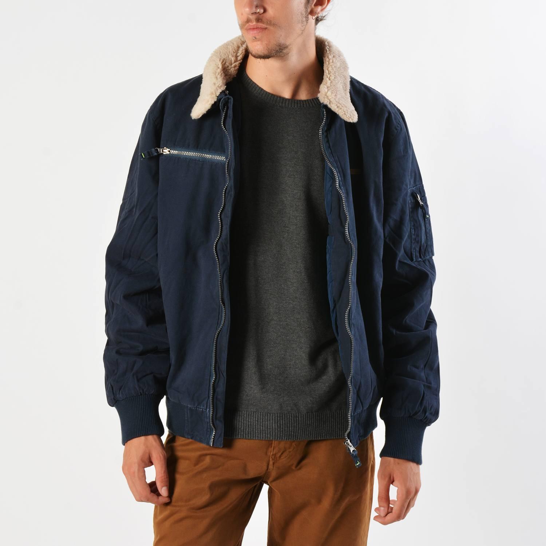 Basehit Men's Jacket With Fur Collar (9000019103_27821)