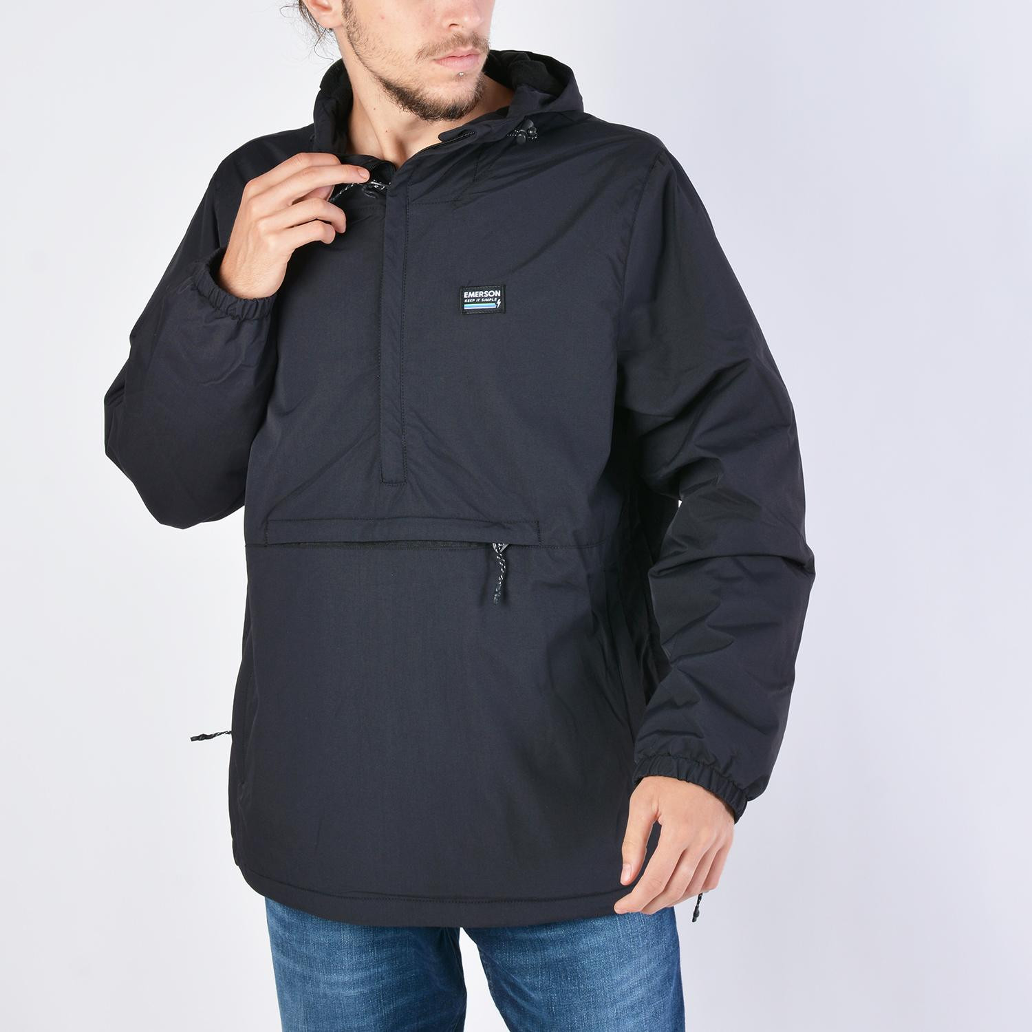 Emerson Men's Pull-Over Jacket With Hood (9000036076_40975)