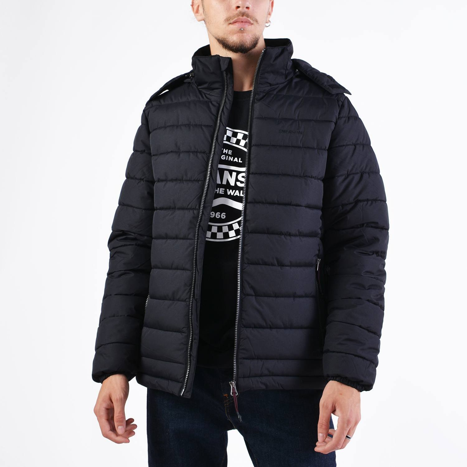 Emerson Men's P.p.down Jacket With Hood (9000036086_40973)