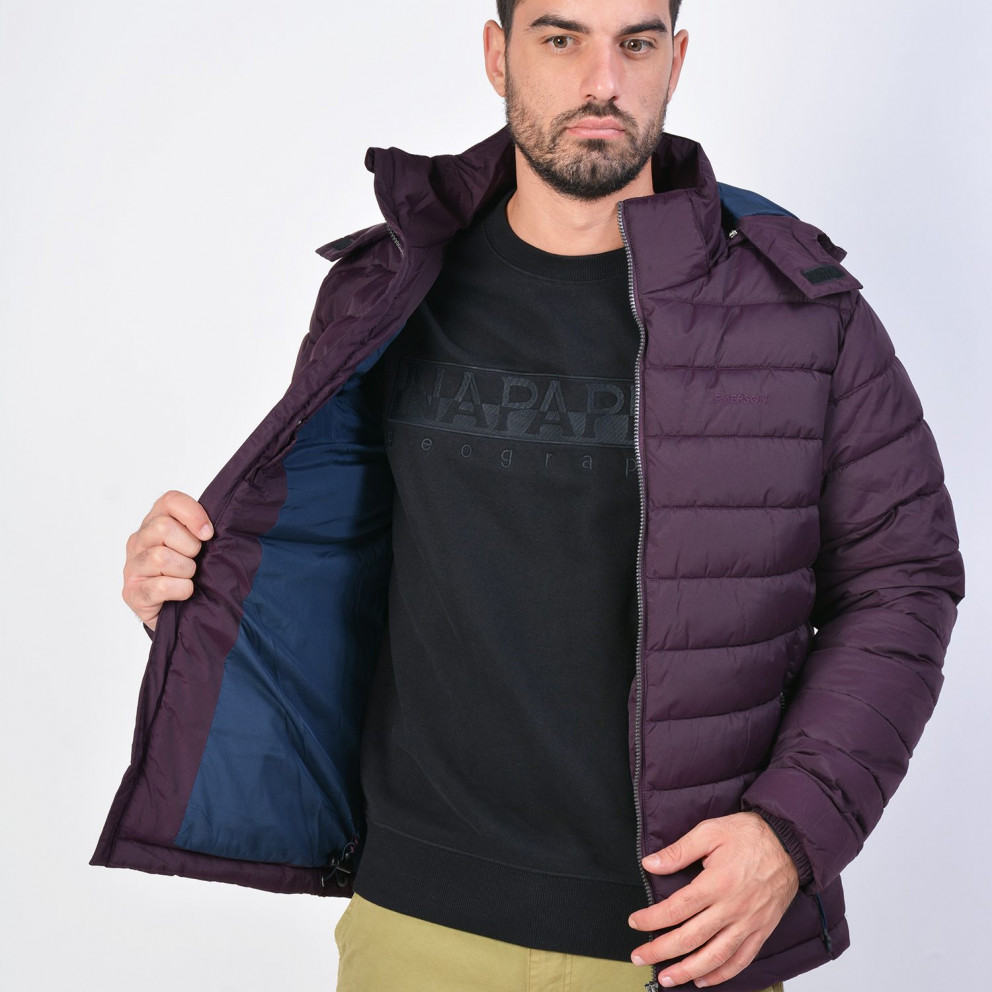Emerson Men's P.p.down Jacket With Hood
