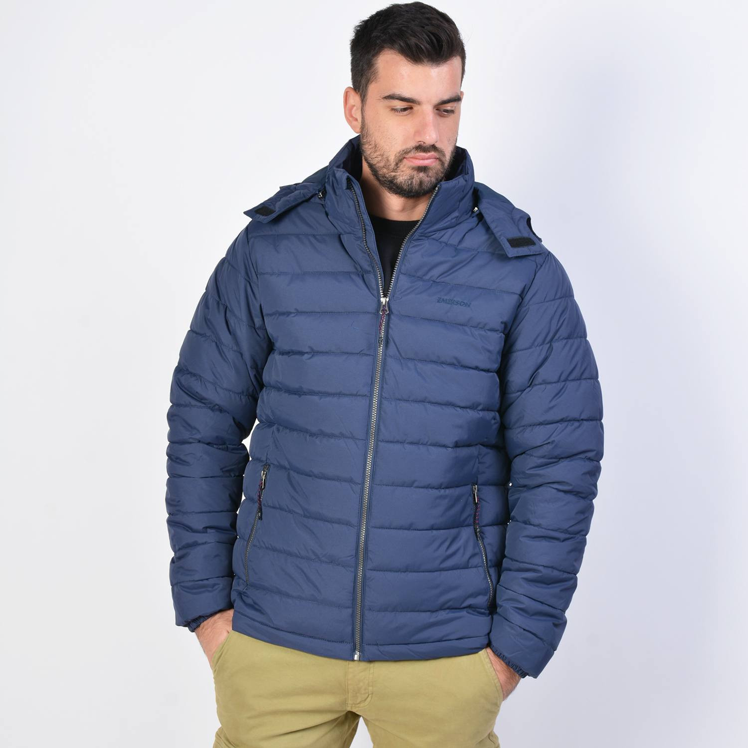 Emerson Men's P.p.down Jacket With Hood (9000036088_40977)