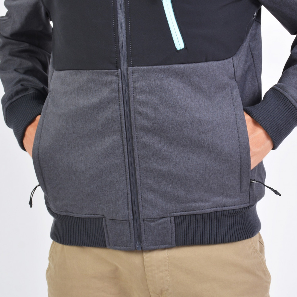 Emerson Men's Soft Shell Ribbed Jkt With Hood