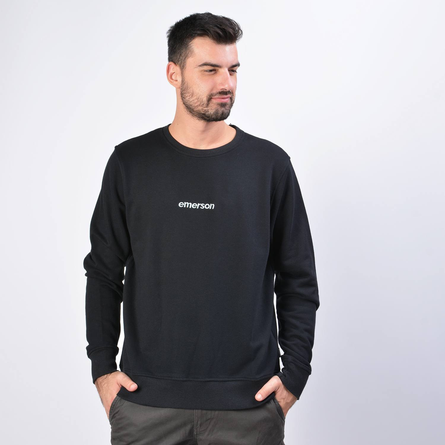 Emerson Men's Neckline Sweat (9000036117_1469)