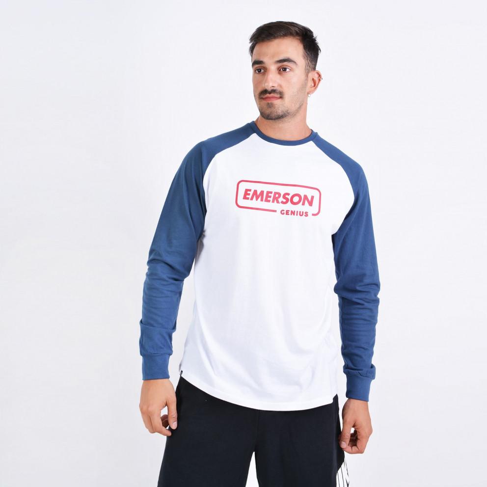 Emerson Men'S Long SLeeve T-Shirt - Ανδρική Μπλούζα