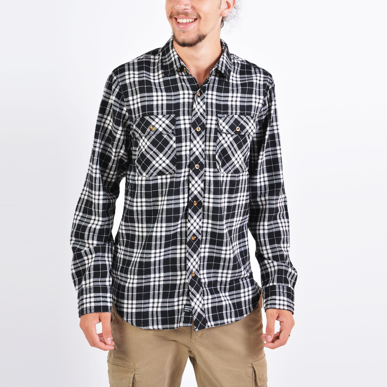 Emerson Men's Flannel Shirts (9000036146_41004)
