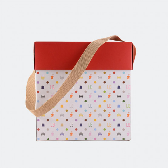 The Lunchbags Κουτί δώρου με καπάκι και χερούλι ιμ