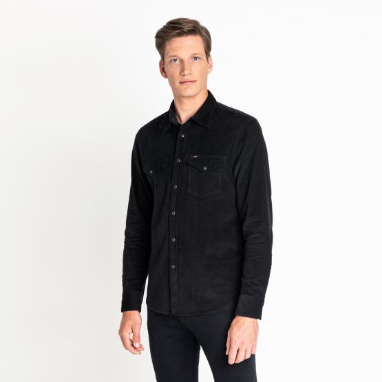 Lee CLEAN WESTERN SHIRT BLACK