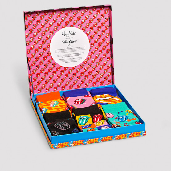 Happy Socks Rolling Stones 6-pack Gift Box