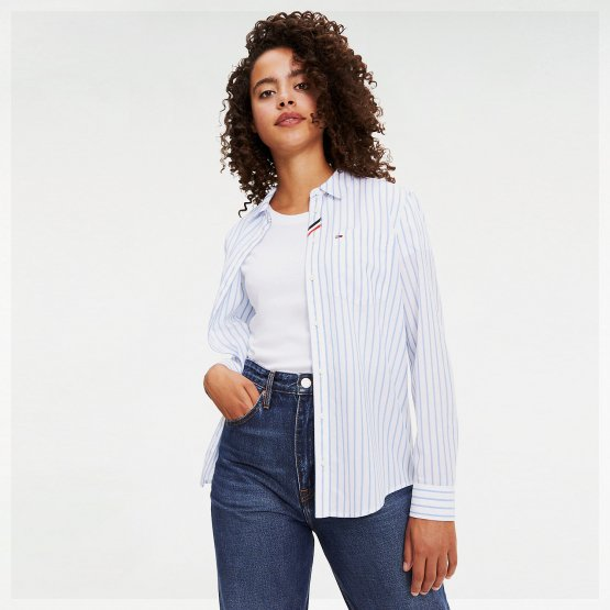 Tommy Jeans TJW REGULAR STRIPE SHIRT