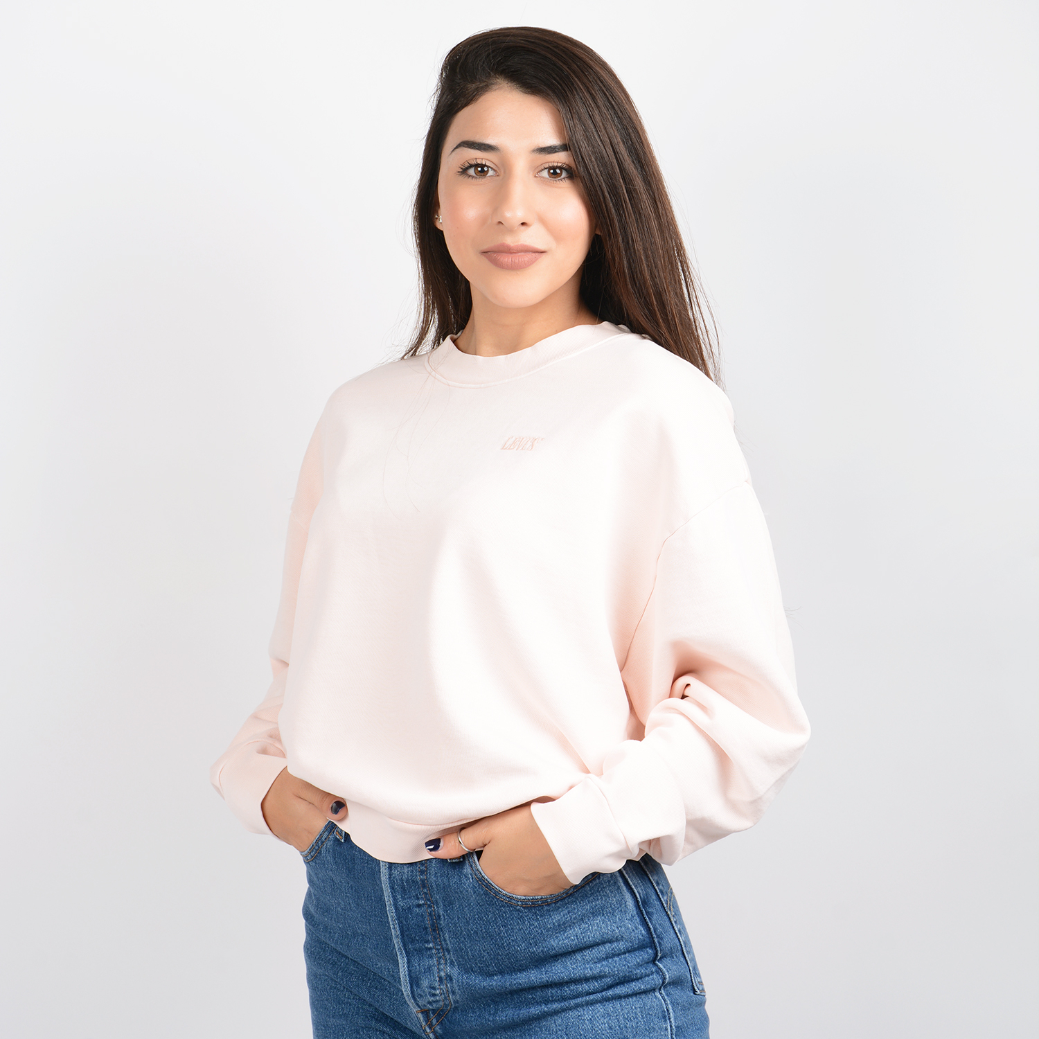 Levi's Diana Crew Long-SLeeve Top (9000048386_26107)