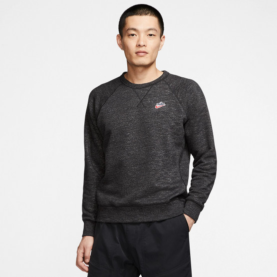 Nike  Sportswear Heritage Crew Men's Sweat Black