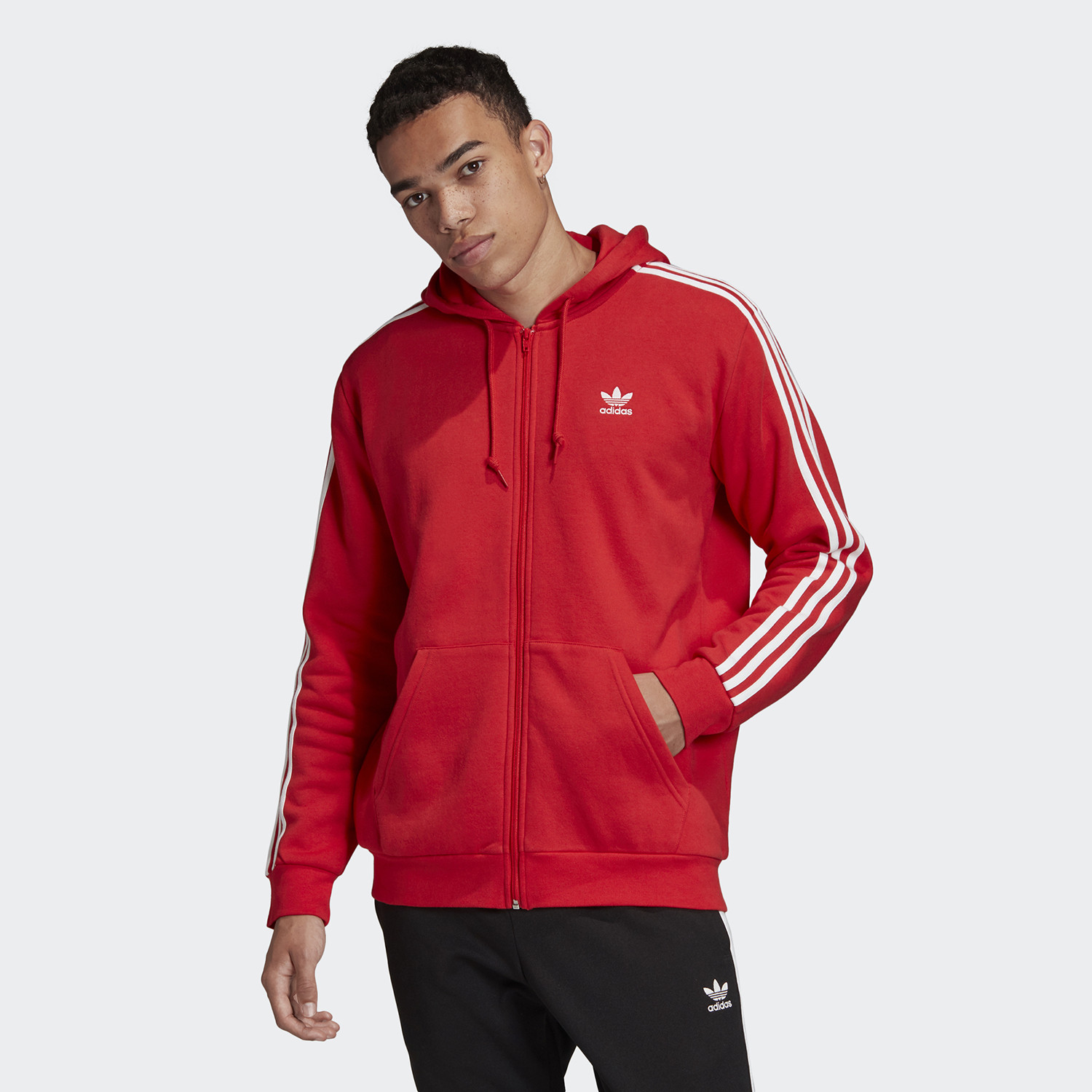 adidas Originals 3-Stripes Fleece Jacket (9000045548_18021)
