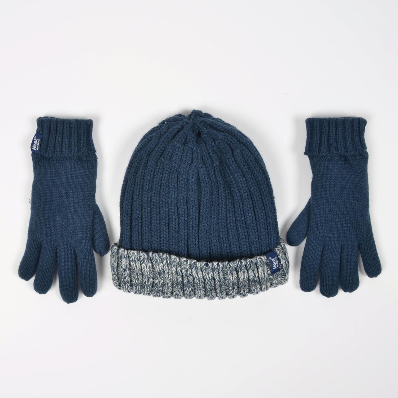 Heat Holders Turn Over Hat & Gloves - Boys (80049) (9000046719_1629)